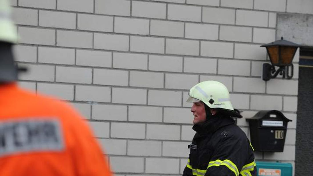Firefighter at Germany workshop