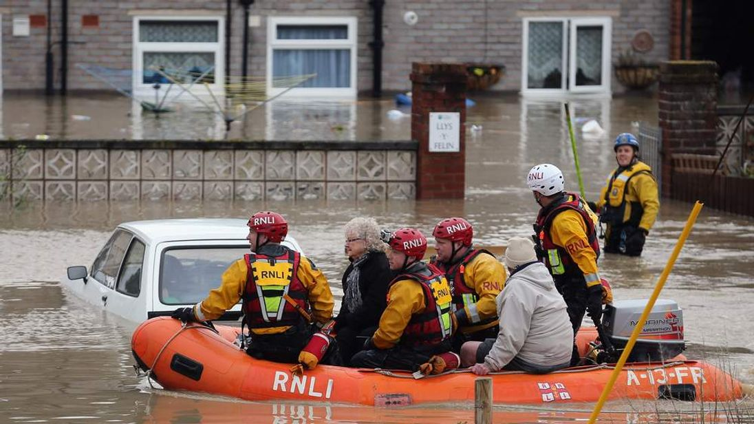Flood Warnings In Northern United Kingdom As Heavy Rain Storms Hit
