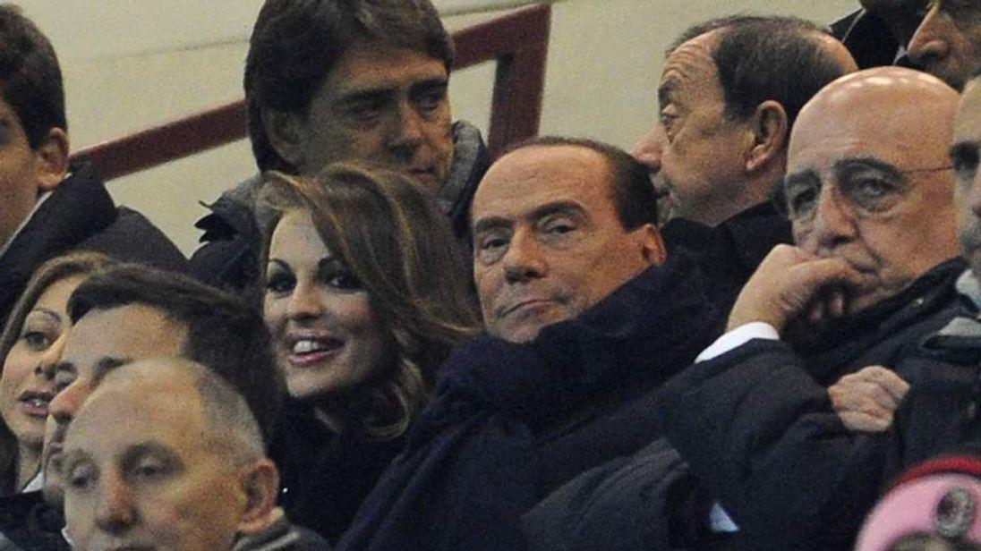 Silvo Berlusconi and Francesca Pascale