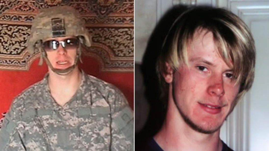 A Taliban-affiliated website shows a man who says he US soldier Bowe Bergdahl captured by the Taliban in late June, 2009.  An undated family handout of 23-year-old U.S. Army private Bowe Bergdahl