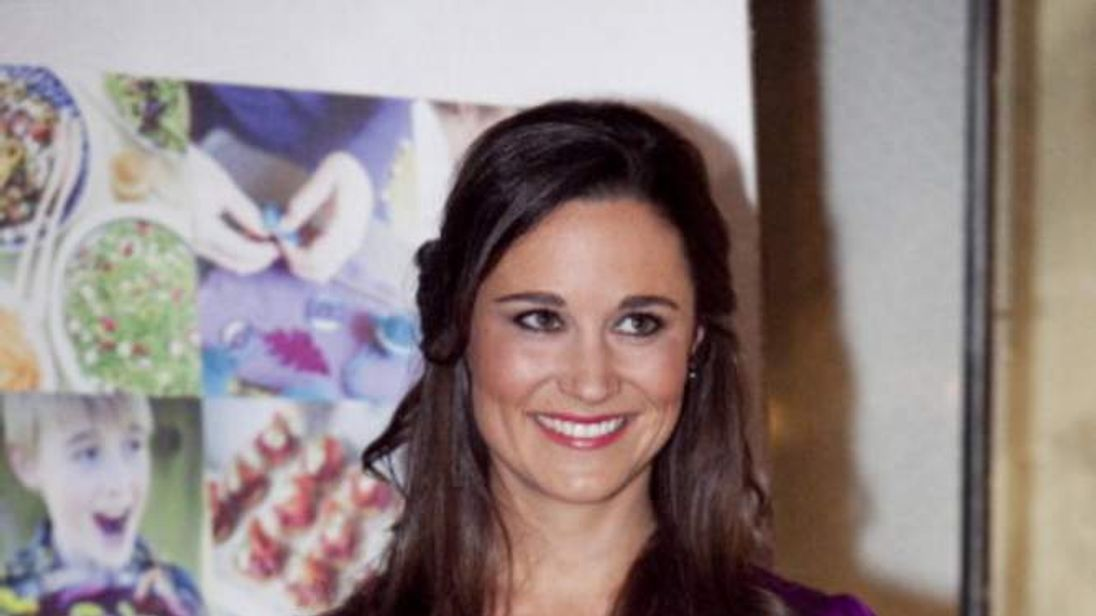 Pippa Middleton Promotes Her New Book