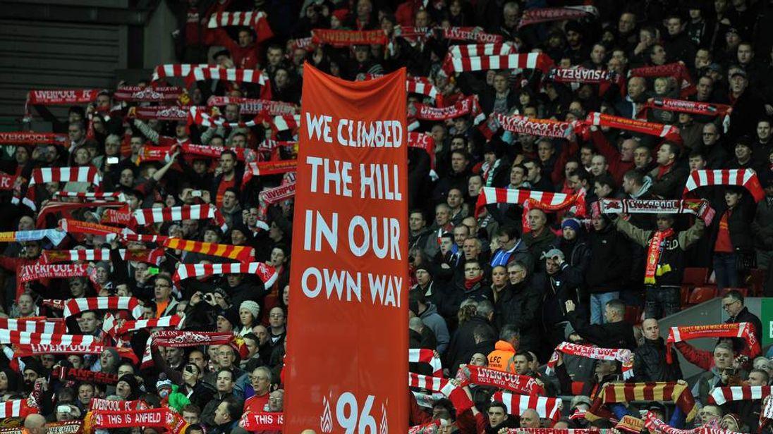 Hillsborough Liverpool fans