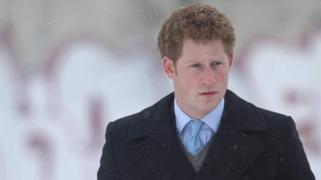 Prince Harry visits the Bernauer Strasse Wall Memorial in Berlin
