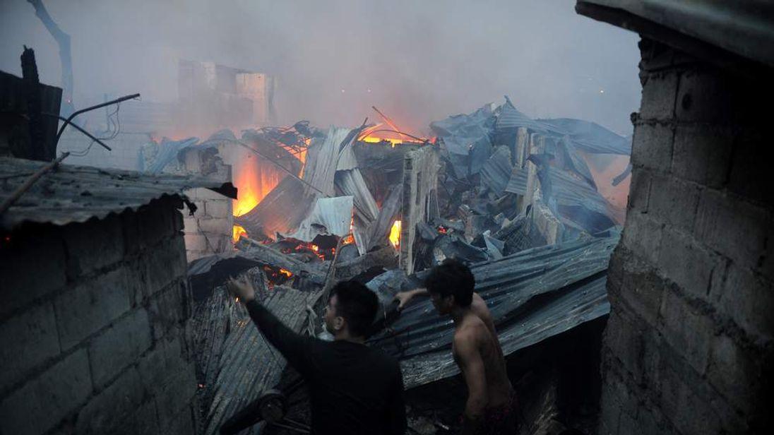 PHILIPPINES-FIRE-ARSON