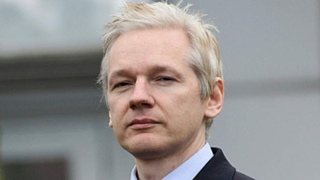 WikiLeaks founder Julian Assange pictured outside court