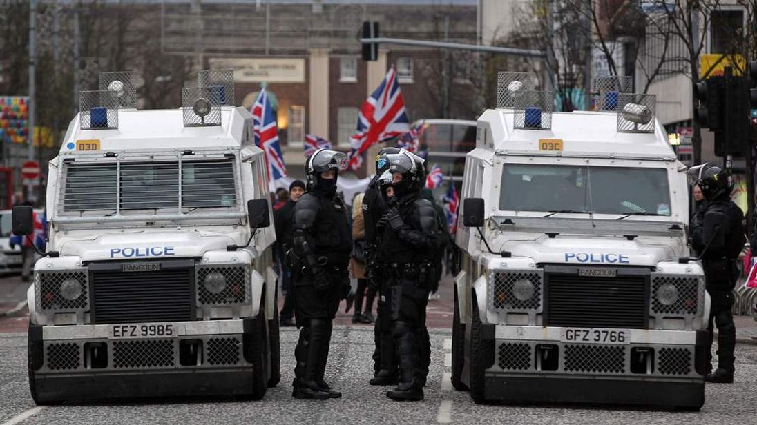 Unrest Continues In Belfast