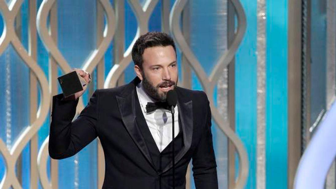 Ben Affleck at Golden Globes