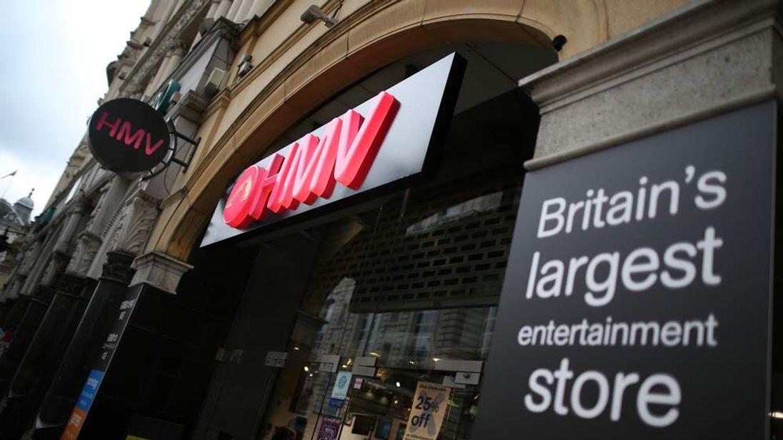 Music Retailer HMV Goes Into Administration