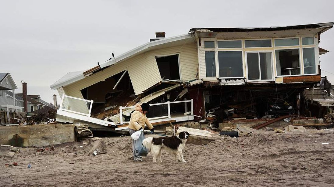 New York's Rockaways Continue Recovery As House Votes On Sandy Aid Package