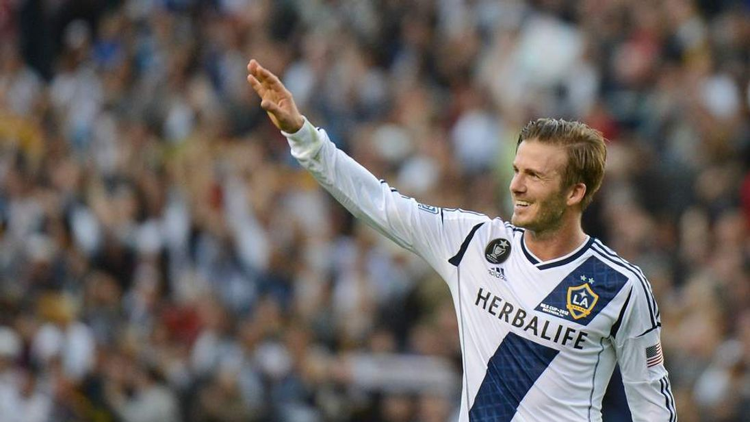 David Beckham Plays For LA Galaxy