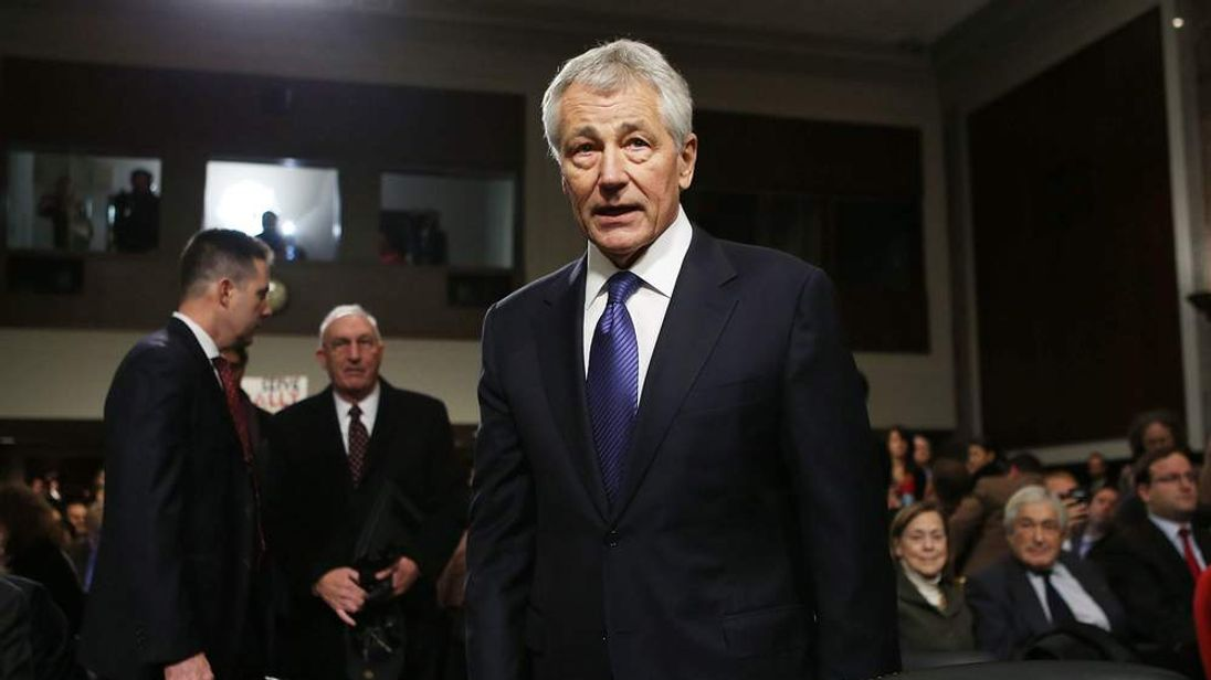 Senate Holds Confirmation Hearing For Chuck Hagel For Secretary Of Defense