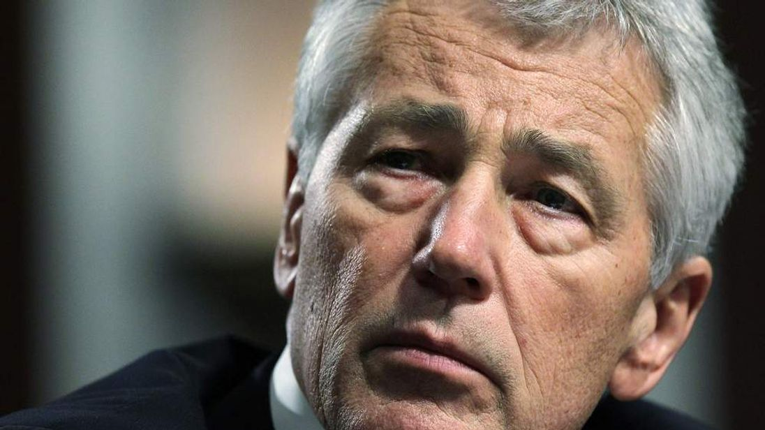 Secretary of Defence nominee Chuck Hagel