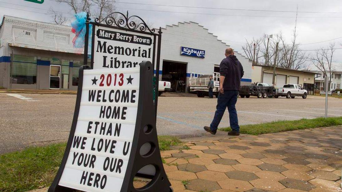 Downtown Midland City, Alabama