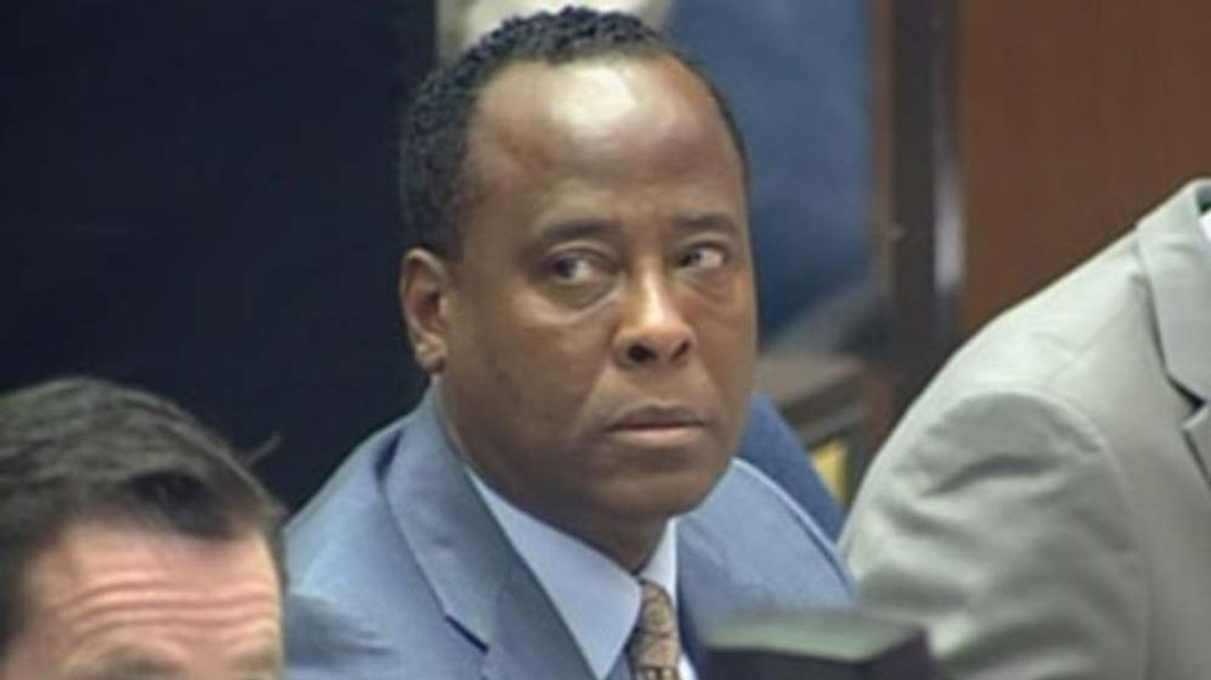 Dr Conrad Murray on day three of his LA trial