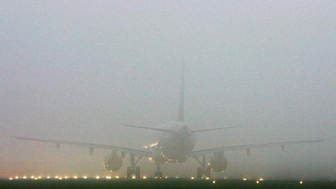 Flights Resume After Fog Descends On Airports