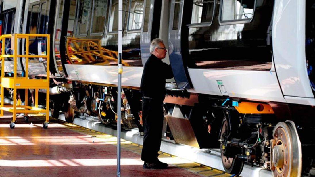 Bombardier worker in Derby