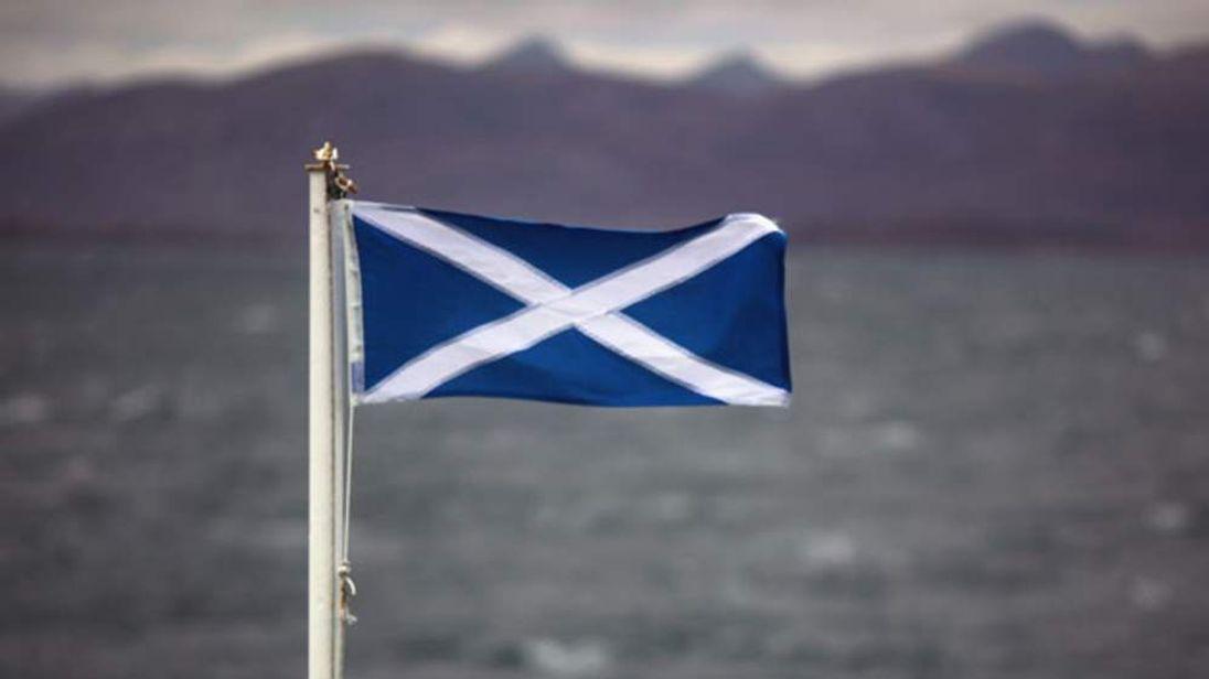 The Saltire flag