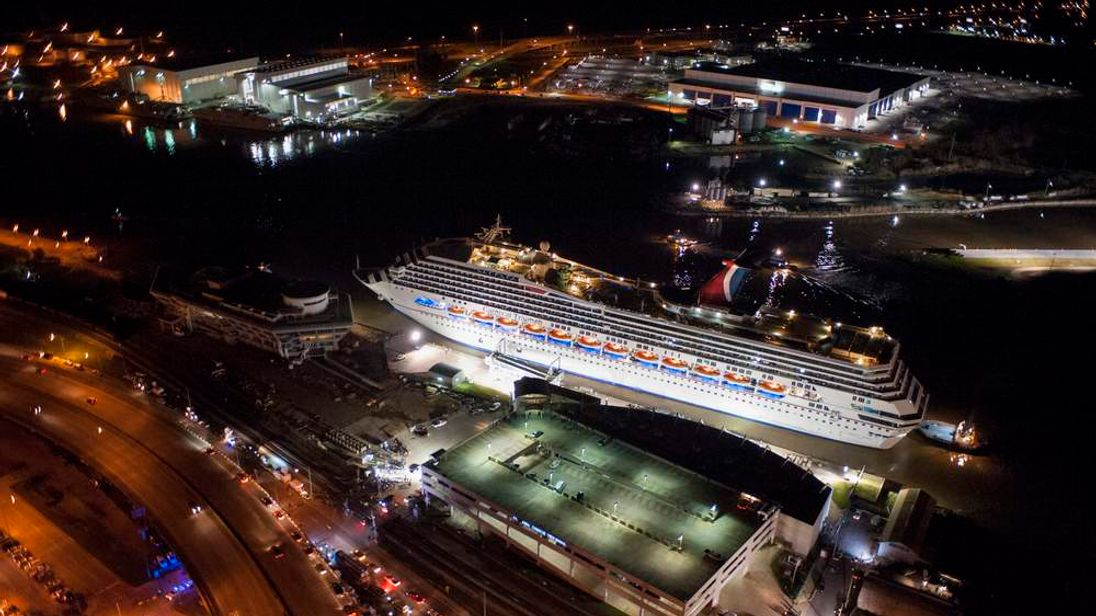 Crippled Carnival Cruise Ship Arrives In Mobile
