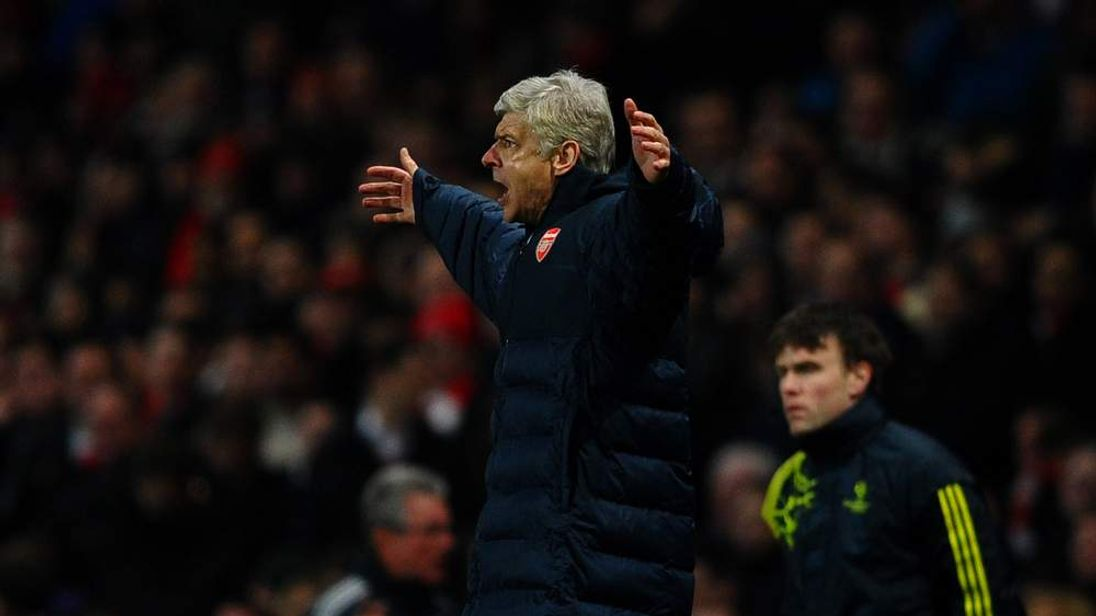 Arsene Wenger Watches Arsenal Lose To Bayern Munich