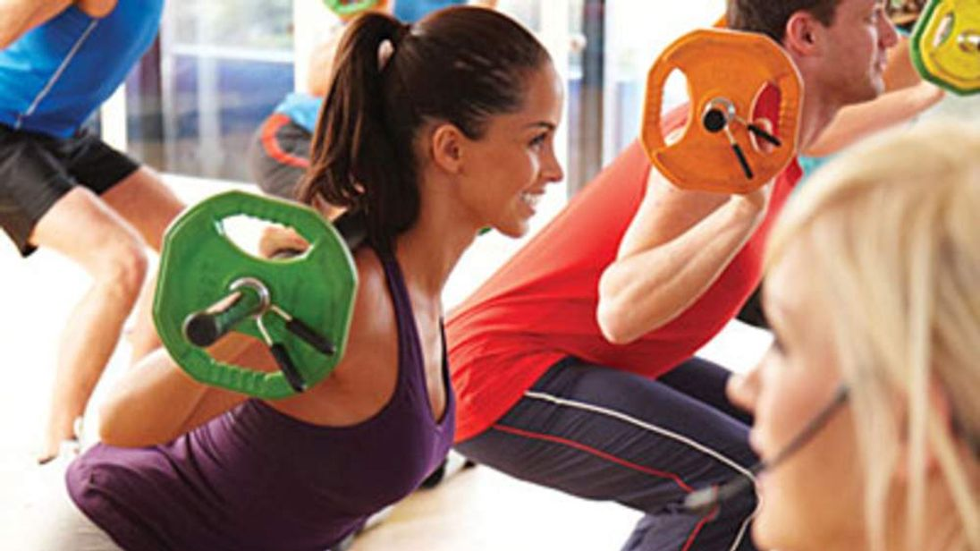 A Fitness First gym session