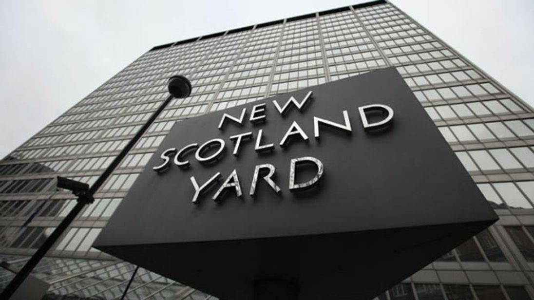 The New Scotland Yard offices in London