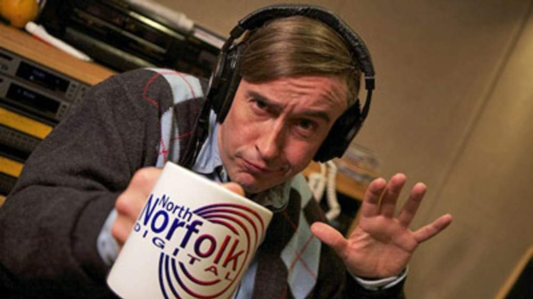 Back of the net! Partridge is returning to TV