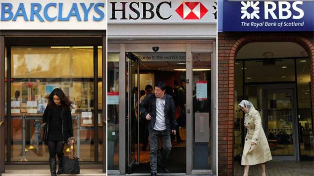Barclays, HSBC and RBS followed Lloyds as the most complained-about