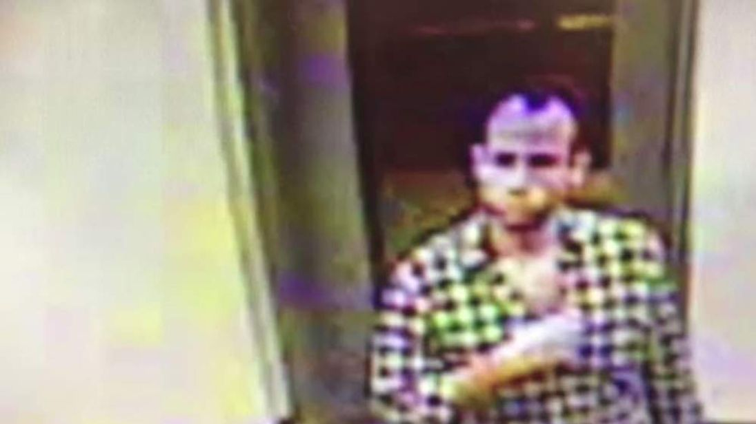 Police have been hunting the suspected thief, who was captured on CCTV