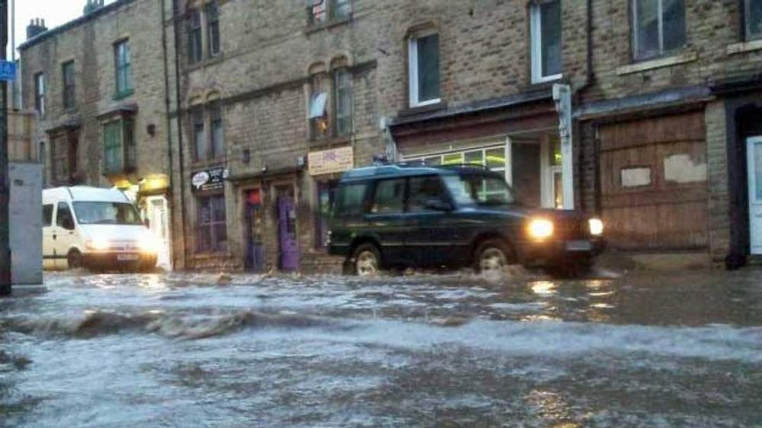 Evacuations take place as floods hit Northern England