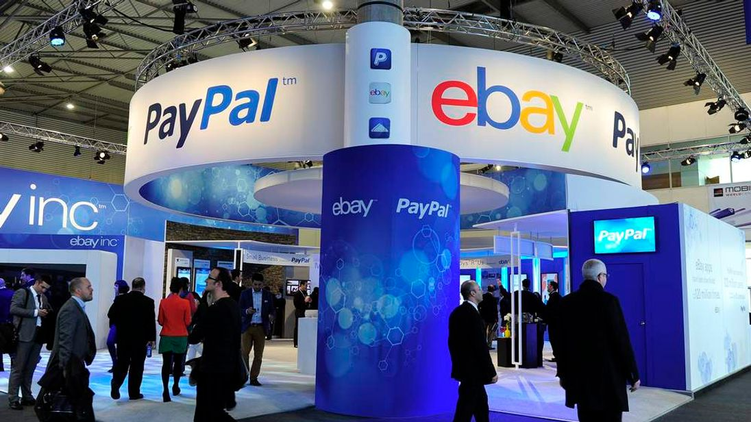PayPal is owned by online auction giant eBay