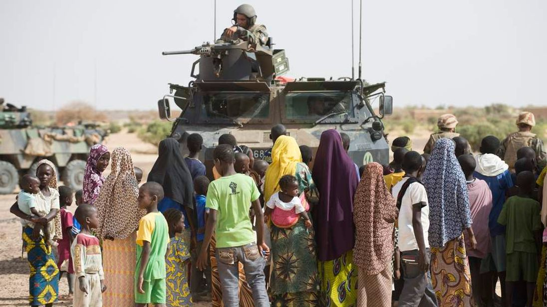 French military intervention against Islamist groups in northern Mali