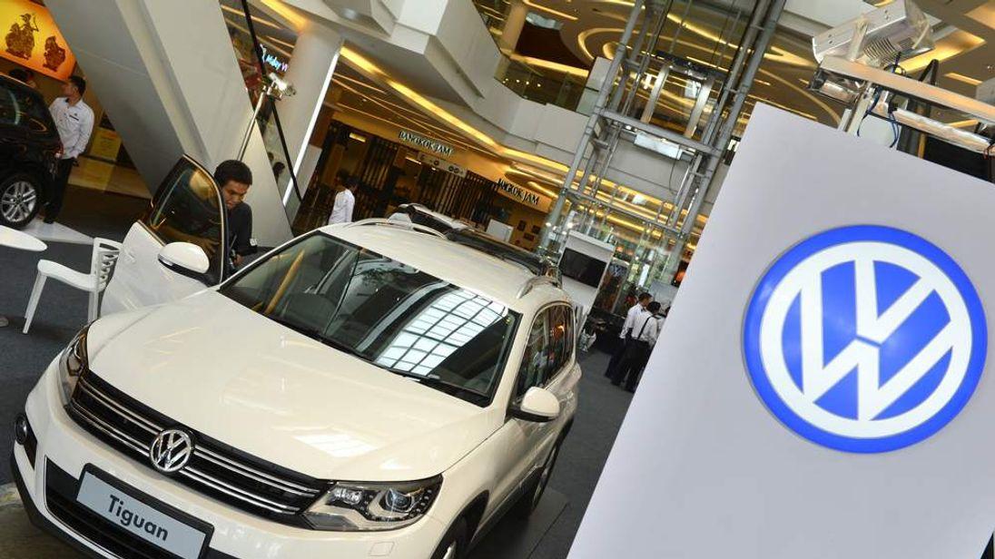 A Volkswagen Tiguan car
