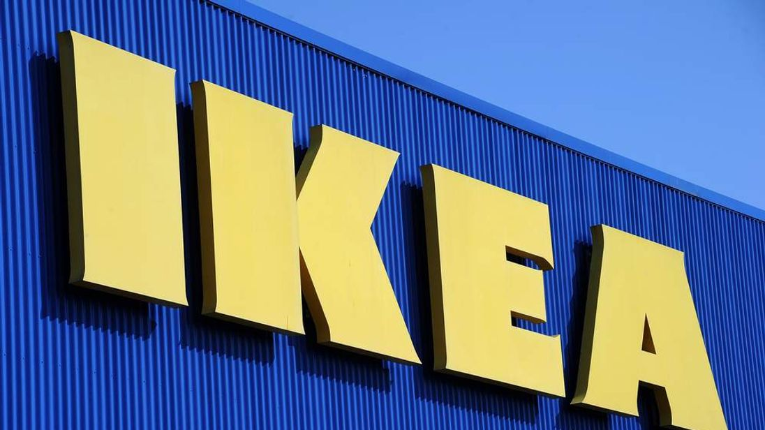 An Ikea shop sign. Pic: File.
