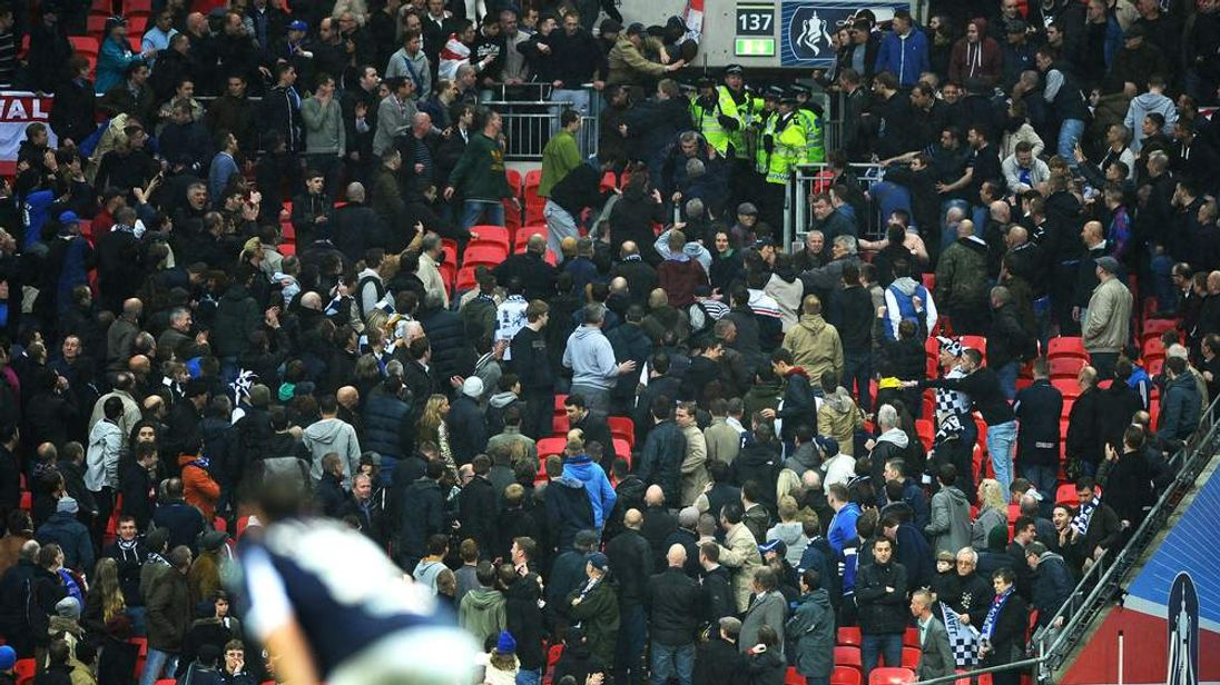 Millwall FA Cup violence
