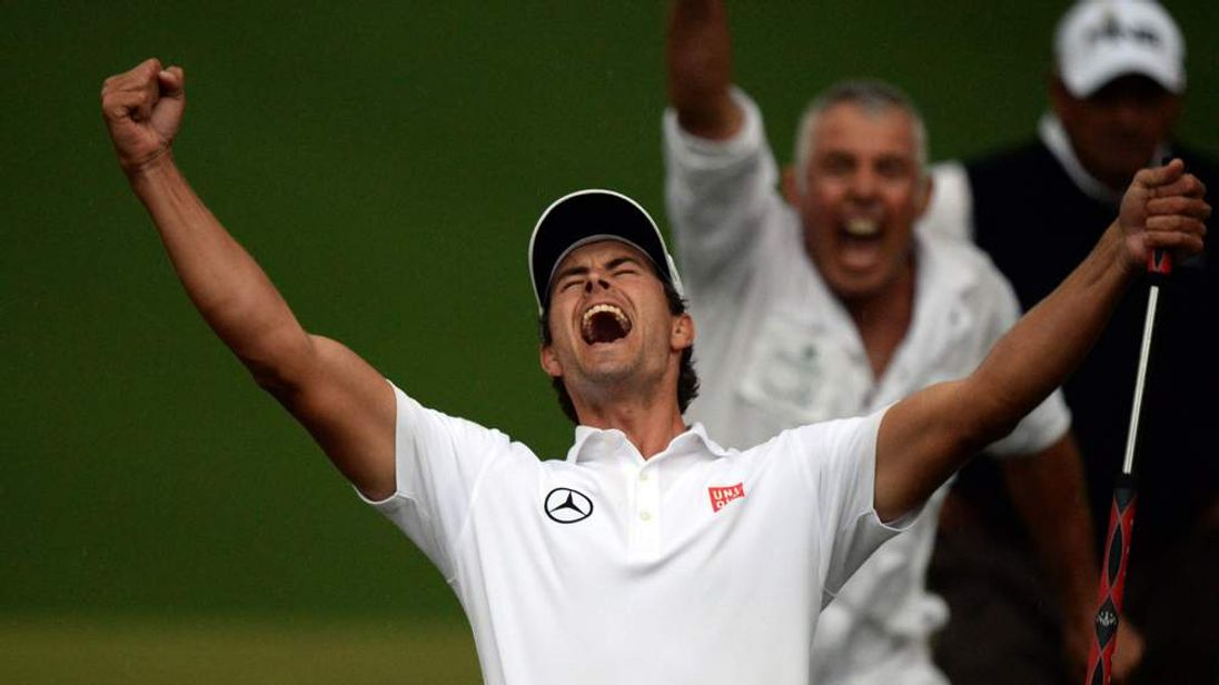 Adam Scott wins the US Masters