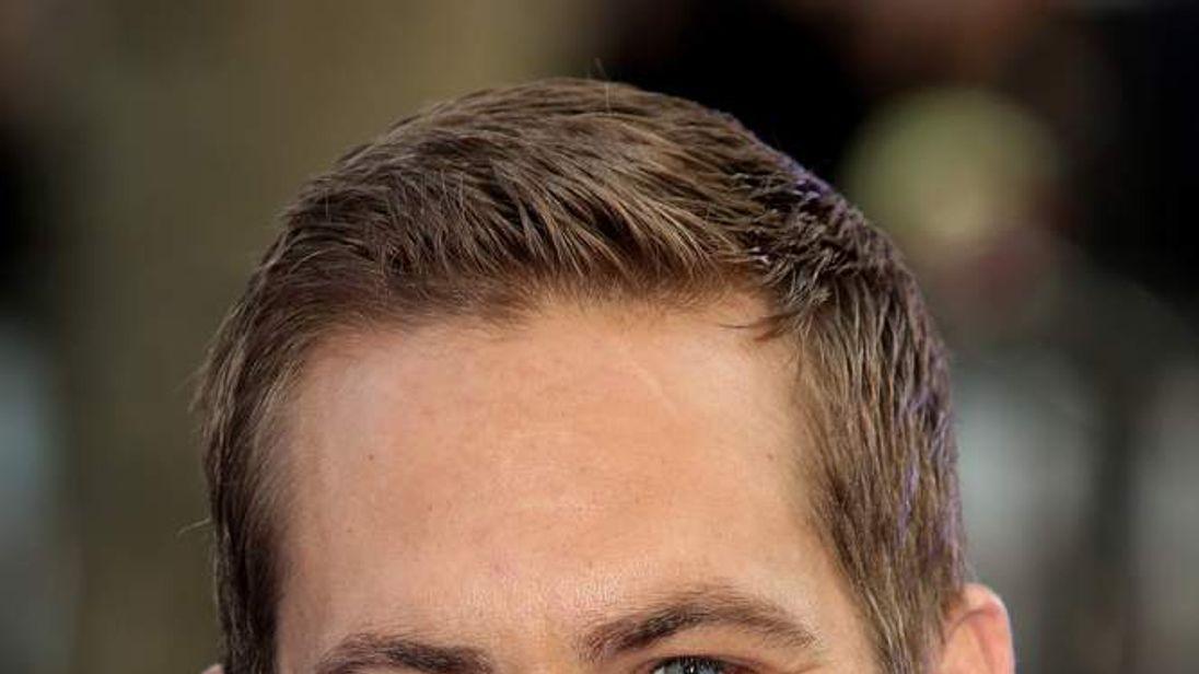Paul Walker attends premiere of Fast & Furious 6 in London