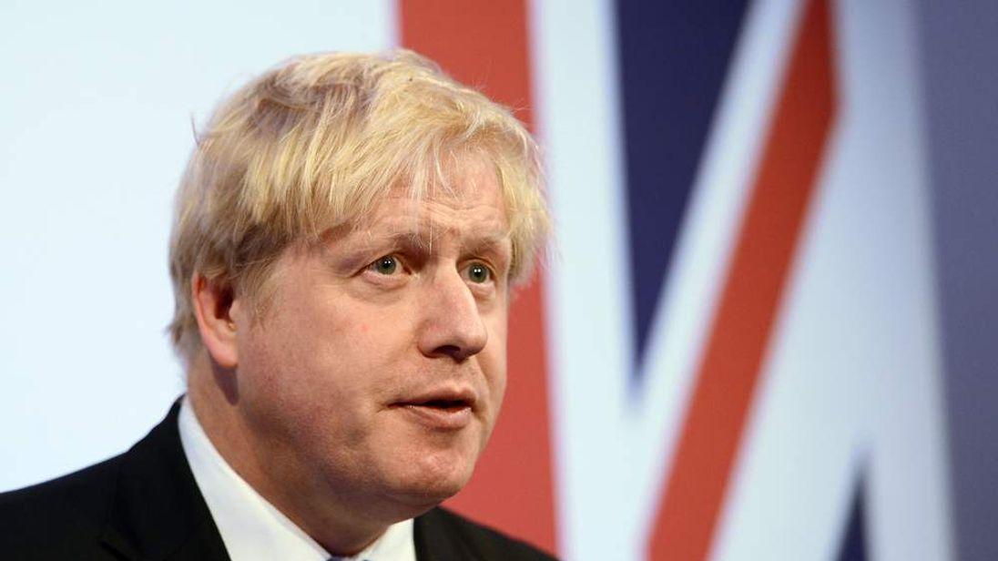 Boris Johnson Union Jack