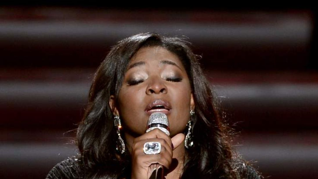 American Idol winner Candice Glover