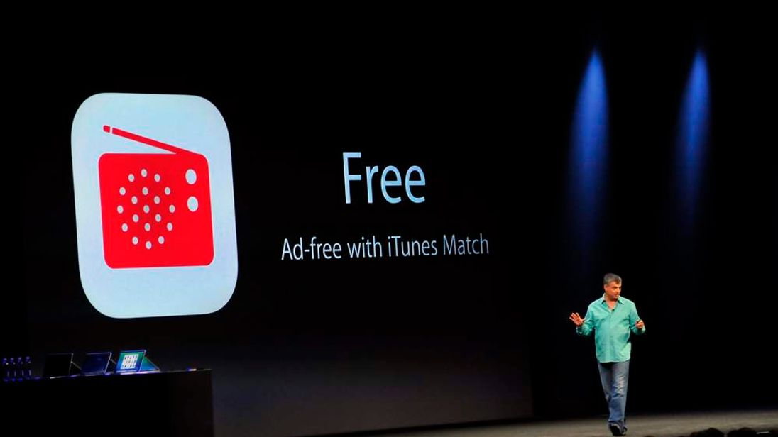 Eddy Cue, Apple's Senior Vice President of Internet Software and Services, introduces iTunes Radio