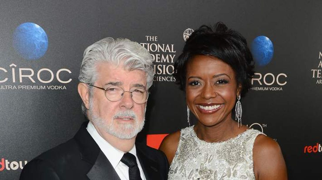 Lucas and Hobson attend 40th Annual Daytime Emmy Awards