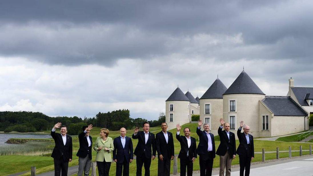BRITAIN-G8-SUMMIT