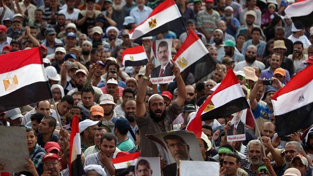 Supporters of deposed Egyptian president Mohamed Morsi
