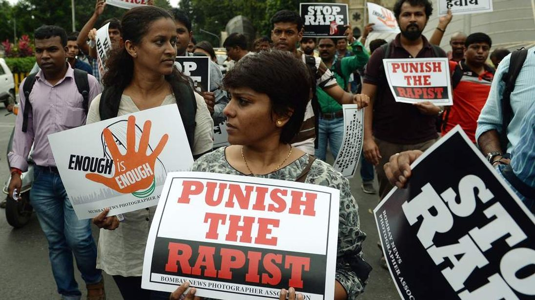 Anti-rape protests in Mumbai