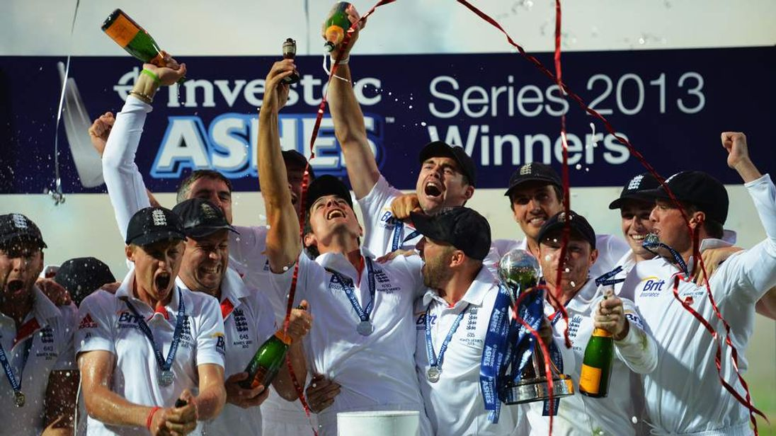 Ashes victory for England