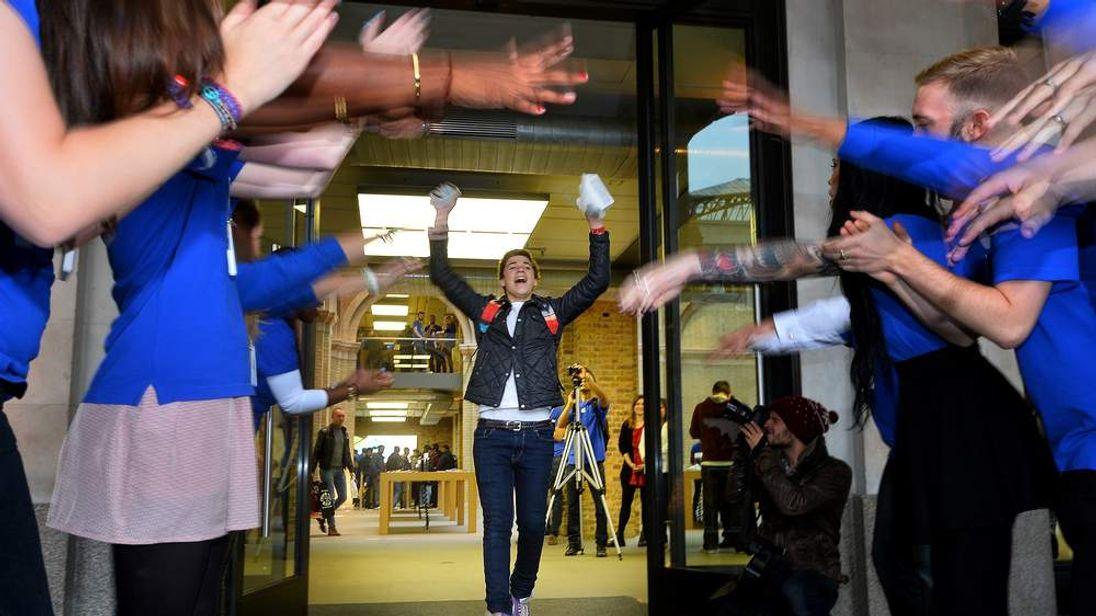 iPhone 5s launch London