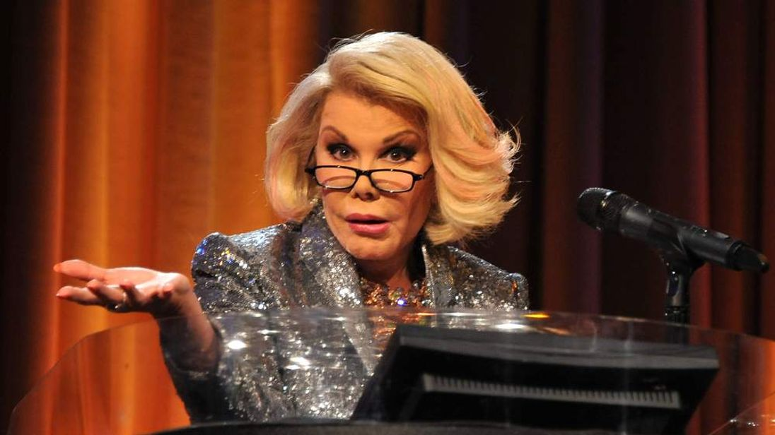 Joan Rivers At 2013 Heller Awards