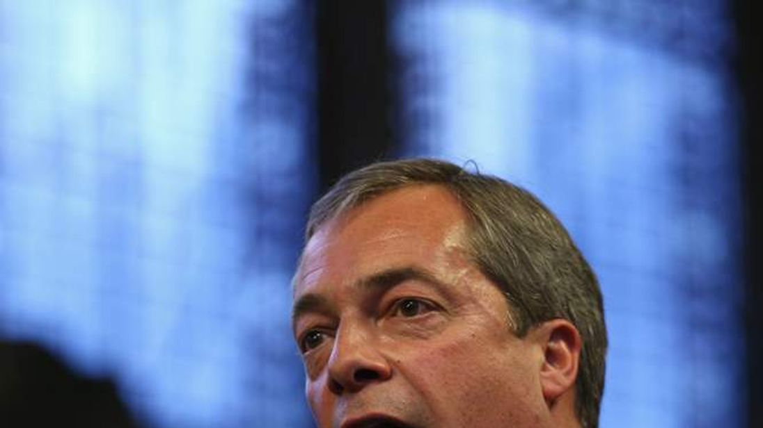 Nigel Farage Conservative Party Conference