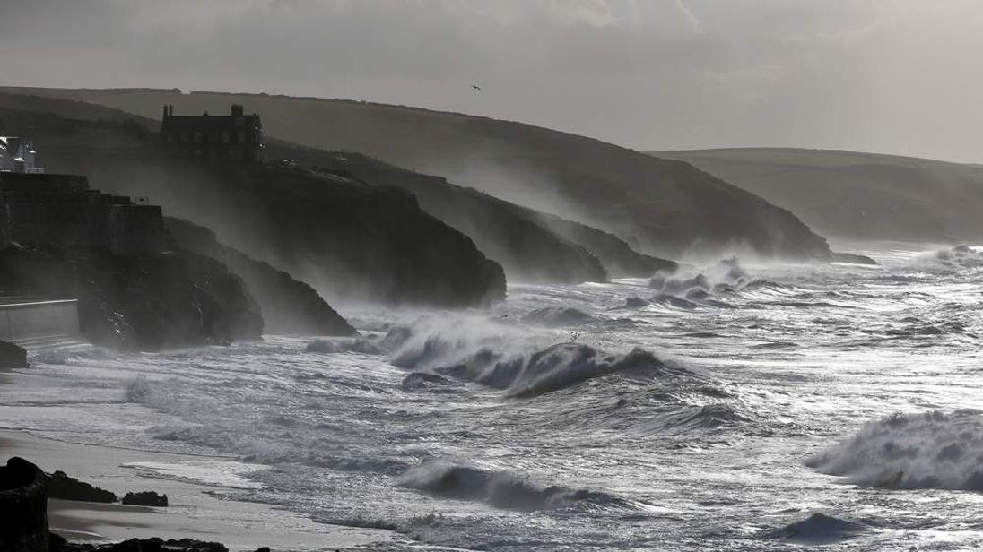 Strong Winds And Heavy Rain Hit  England and Wales