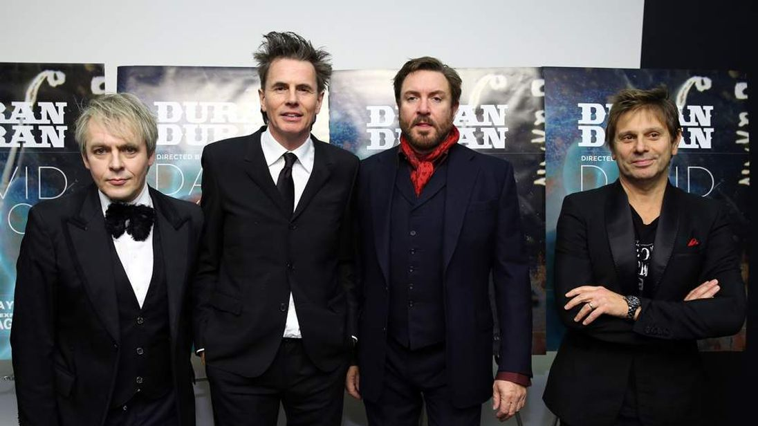 Duran Duran in New York.