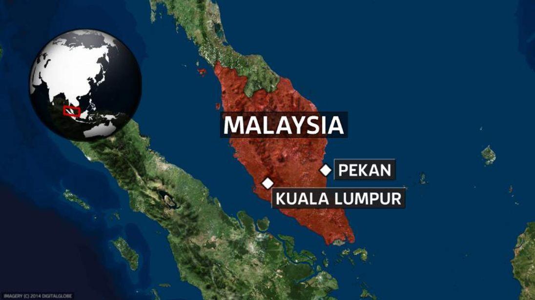 Map of Malaysia